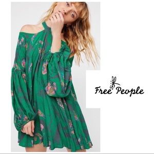 SOLD Free People Drift Away Cold Shoulder Tunic